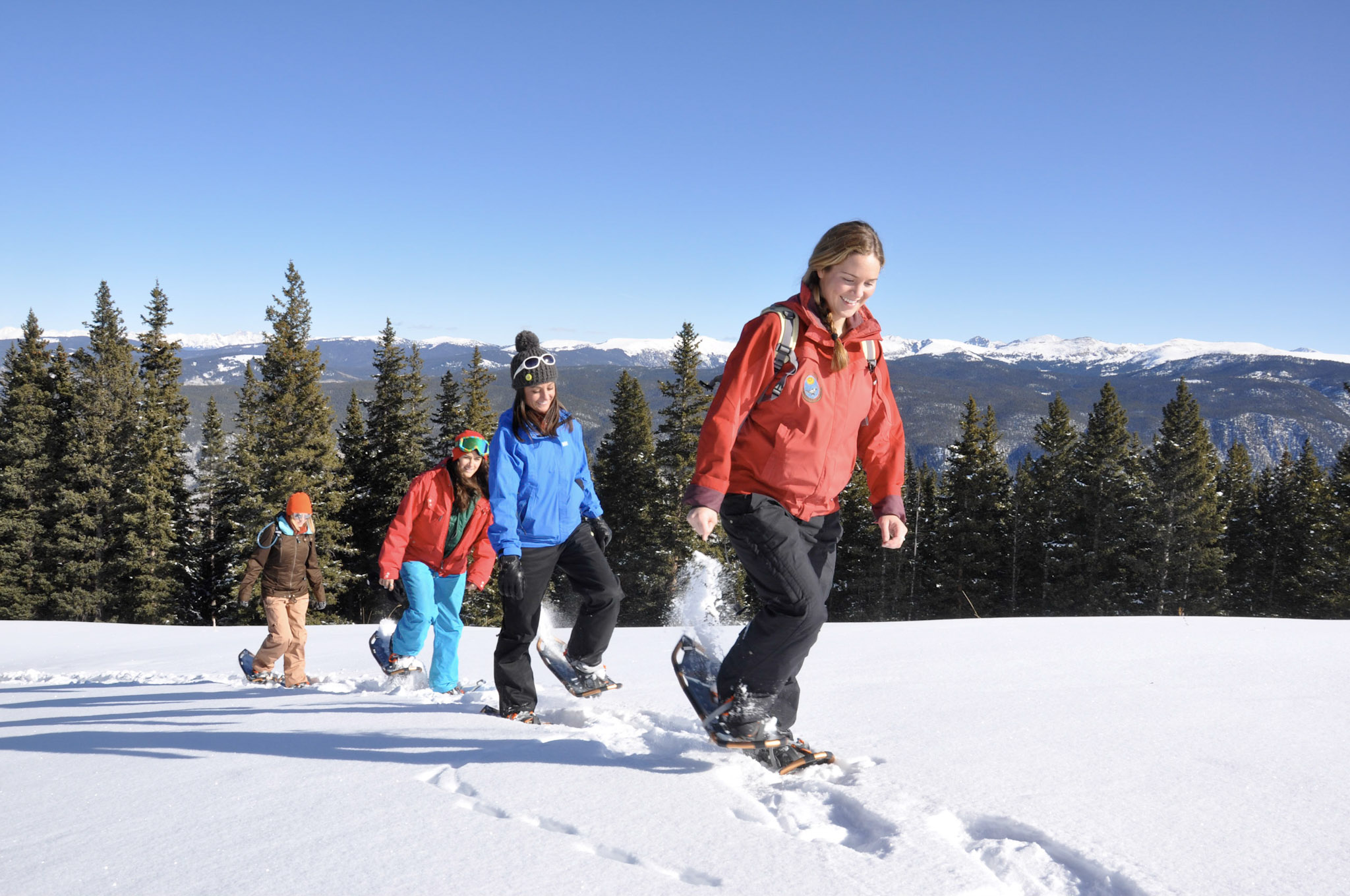 Aspen Mountain Snowshoe Tour with ACES